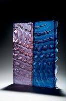 Kane Cali- Rippled Landscapes (Glass Art) at Christine X